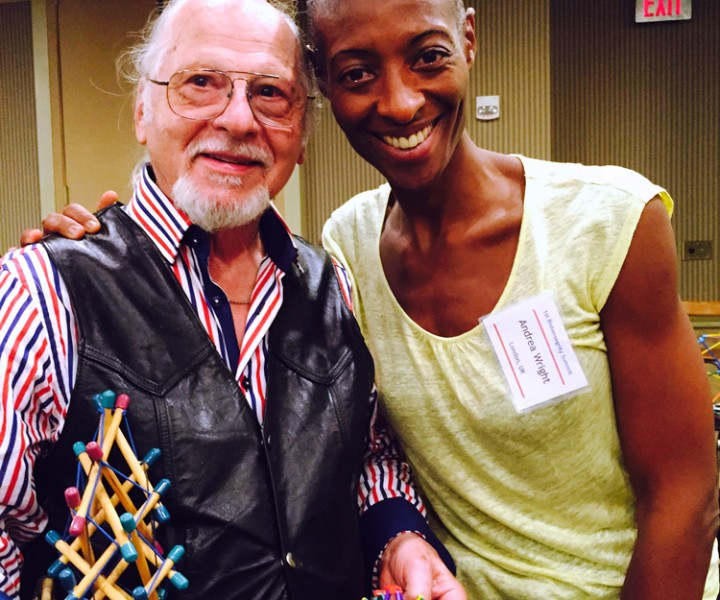 With Dr Stephen Levin, biotensegrity pioneer