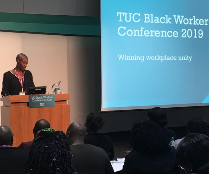 Supporting motion, TUC Black Workers Conference